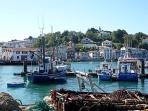 Ciboure Harbour