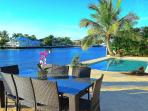 Spectacular Pool & Dining Overlooking Intracoastal Waterway w/Stunning Views...