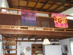 Loft over the livingroom