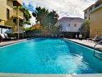 Swim or catch sun at the pool
