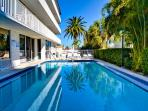 Enjoy relaxing afternoons by the pool