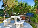 BBQ grill and picnic area at Bayside vacation condos