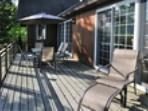 Cottage deck/front