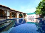 The peacefull villa with private pool