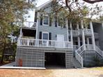 Front facade of our beach home
