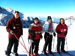 Skiing locally
