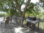 Spacious deck with elite gas BBQ perfect for family gatherings. Stargazers delight at night!