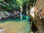 A true Getaway: Paradisiacal pure water river in our property