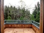 Side Deck Facing Forest
