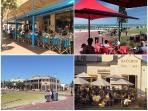 Henley Square: restaurants, pubs and coffee shops with day and night time entertainment