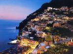 Positano and its pastel colors