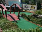 Putt Putting at Magic Mountain