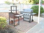 Deep pit charcoal & gas BBQs