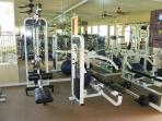 Nicely equipped Gym