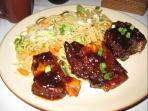 Hawaiian ribs at our restaurant.