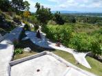 Garden of Hotel Bohol Vantage Resort