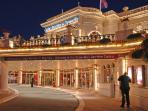 The Deauville's astonishing casino.