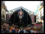 Boqueria Market 10 min walk