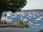 Summer at the Town Landing - just a few hundred feet down our road.