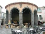Downtown market square - a few minutes walk away!
