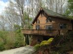 Top of the Line Asheville Mountain Cabin