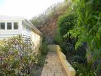 Walkway to private end villa....Flamingo Way!