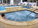 Seasonally Heated Pool and Hot Tub