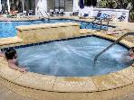 Seasonally Heated Pool and Hot Tub will be lots of fun when you