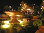 The Village at night is a great place for all activities