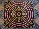 Mosaic floor in Ujezd 5