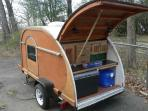 Tear drop camper available upon request