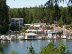 Fair Harbor Marina- across from our cabin.  Great place to launch your boat.