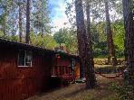 Family Cabin, wifi, A/C, 3DTV, Outdoor Games