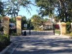 Electronic Entry into small luxury gated community.