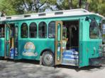 Travel the Island on the Free Trolley