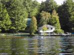 Lakeview Cottage is right on the water!