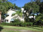 Historic House in Tarpon Springs located one half block from Spring Bayou.  Walk to restaurants.