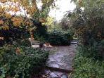 Retreat to the garden  patios