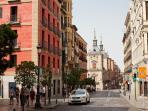 Calle Mayor Street: Plaza de la Villa palaces from XV century