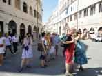 Guests in Historic Perugia