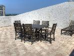 Enjoy dinner for 6 on this magnificent sundeck