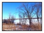 Great Cataraqui River in the Winter (a short walk from the townhouse)