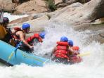 Whitewater rafting on the Kaweah River