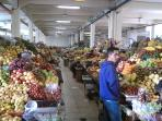 Indigenous market (fruits, vegetables, meats, seafood) close by