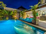 Swimming Pool - Evening