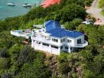 Andante by the Sea, Private Hideaway on Hart Bay with views to Chocolate Hole and beyond