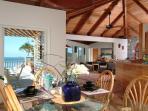 Andante's Indoor Diningroom seats 6