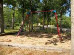 Small children's swing set