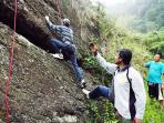 adventure activity, rock climbing