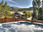 Steamboat Springs Townhouse with Private Spa.